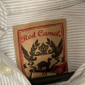Red Camel Shirts & Tops - Boys long sleeve button down size M